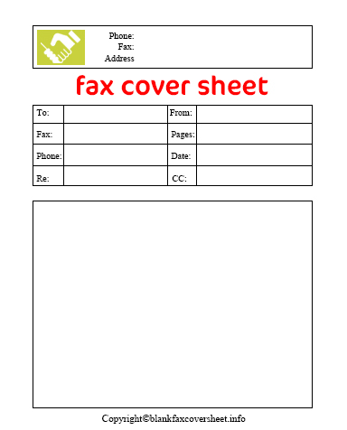Business Fax Cover Sheet Free