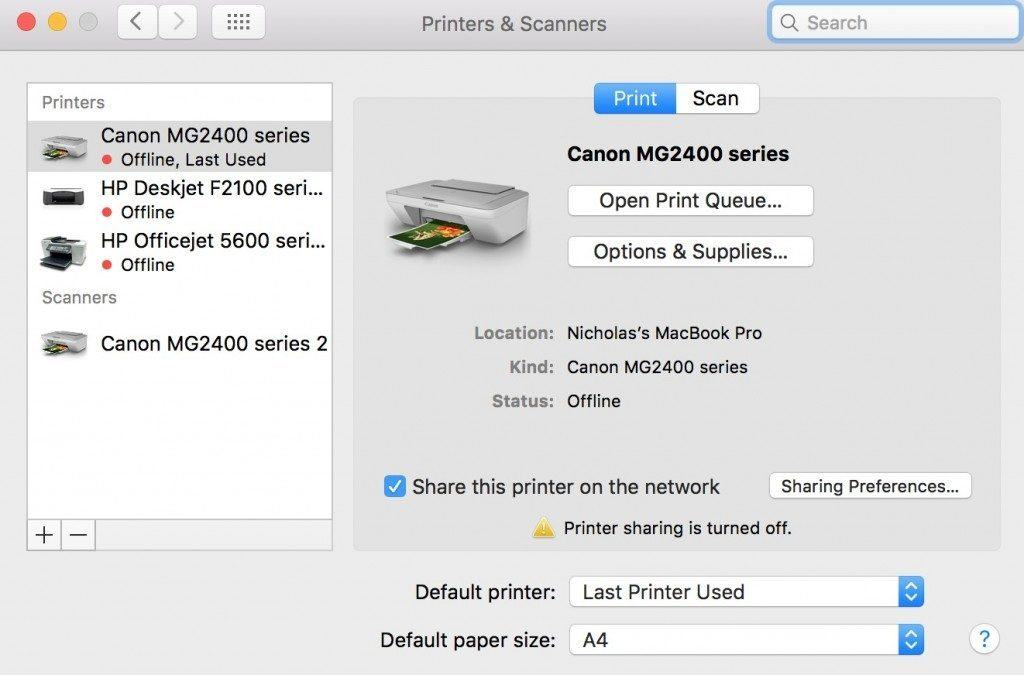 How to Send fax from mac