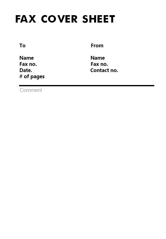 Masshealth Fax Cover Letter Printable